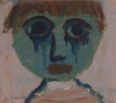 Eugène Brands (1913-2002) leerde de andere Nederlandse kunstenaars die bij Cobra betrokken zouden zijn, op de tentoonstelling 'Jonge schilders' kennen. Brands kreeg in deze expositie opmerkelijk veel aandacht. Appel, Corneille en Anton Rooskens kwamen hierna regelmatig bij hem op bezoek en haalden hem over om zich aan te sluiten bij de CoBrA. Brands die meer op zichzelf gericht is moest hier lang over nadenken. Liever trekt hij zich terug in zijn eigen droomwereld.- 1951