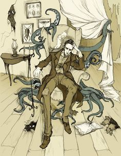 Lovecraft by MirrorCradle