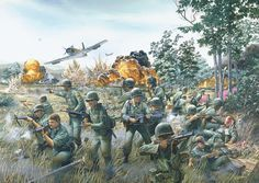 The Vietnam War was a controversial war that needed the support of the people in the United States. In order to get this support, the government and other individuals would create propaganda. One of the most prevalent methods of gaining support was through art. Different types of artists would create a piece of artwork that represents a point of view on the war.