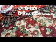 Patchwork Ao Vivo #35: meshwork e dicas sobre mantas - YouTube