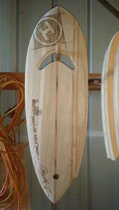 New body surfing hand plane.