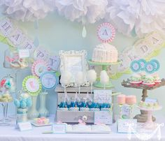 April Showers Party Spring Party  PRINTABLE PARTY by CutiePutti, $50.00