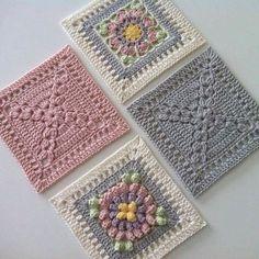 "597 Likes, 6 Comments - Hülya Özdemir (@ozdemirhulya) on Instagram: ""#nice #cute #details #design #decor #ideas #square #model #motif #crochet #blanket #manta…"""