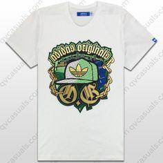 adidas Originals Mens OG Trefoil T-Shirt at QV casuals. Save on a huge range of big brand t shirts.