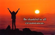 Be thankful in all circumstances. http://sunflowerseedsforhope.blogspot.com/2013/07/cultivate-contentment.html?m=1