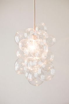 DIY Bubble Chandelier | POPSUGAR Home