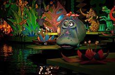 Walt Disney World - Magic Kingdom - It's a Small World. This hippo is one of my favorite parts of the ride. Disney World Magic Kingdom, Disney World Parks, Disney World Resorts, Disney Vacations, Disneyland California Adventure, Disneyland Trip, Disney Rides, Disney Fun, Disney Stuff