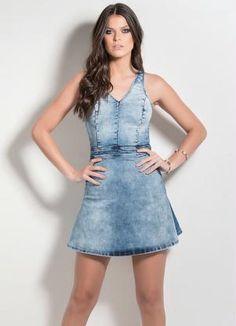 Vestido (Jeans) Colcci