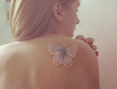 Amazing butterfly #tattoo