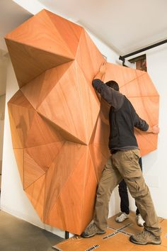 Milan, Italy | » Redefining possibilities of wood