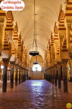 Visit Awe inspiring Mezquita, Cordoba, Spain & Podcast - Nextbiteoflife. Must see place in Cordoba with its stunning mixture of Christian and Islamic architecture.