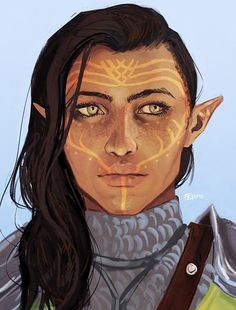 ladytrevelyan:  I've commissioned a portrait of Sienna to the amazing masseffxt and I couldn't be more in love ♥