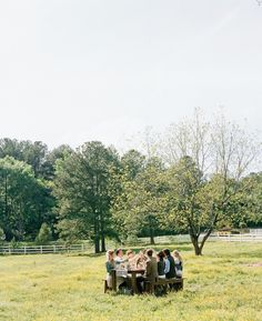 dinner in the field | Stephen DeVries #wedding