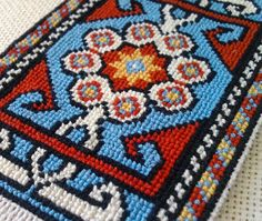 mini rug X cm Rugs On Carpet, Mandala, Cross Stitch, Miniatures, Embroidery, Blanket, Crochet, Crafts, Farmhouse Rugs