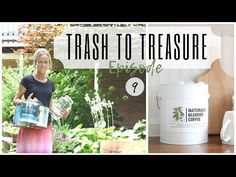 Trash to Treasure Project ~ Paint Can Reuse~ Drawer Idea ~ Glass Jar DIY ~ Paint Can Repurpose Diy Flowers, Flower Pots, Farm Crafts, Trash To Treasure, White Cottage, Reuse Recycle, Recycled Art, Paint Cans, Diy Painting