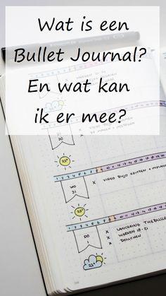 Nederlandse uitleg over wat een Bullet Journal is en wat je er mee kan.