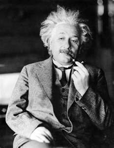 Albert Einstein: instant verstand van het leven..