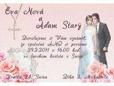 Svadobné oznámenie - SO015