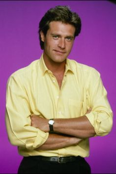 """John James aka Jeff Colby from """"Dynasty"""" and """"The Colbys"""". I love him. Such a handsome man. Dynasty Tv Series, Dynasty Tv Show, Jeff Colby, Tvs, Der Denver Clan, John James, Evolution Of Fashion, Tv Soap, Miami Vice"""