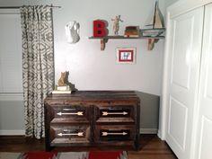 JLWoodworx.com. Baby boys dresser changing table. @James Long