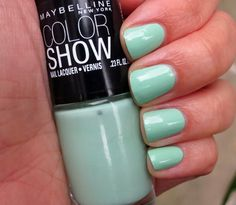 Maybelline Green With Envy Just found this, and it matches my prom dress perfectly!