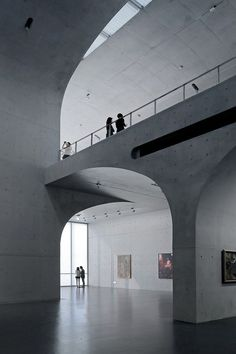 Long Museum West Bund Designed by Atelier Deshaus, Long Museum West Bund is located at the bank of Huangpu River, Xuhui District, Shanghai Municipality, the site of which was us Concrete Architecture, Architecture Awards, Space Architecture, Architecture Details, Architecture Career, Shanghai, Contemporary Art Gallery, Concrete Structure, Design Museum