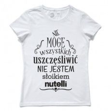 Pewex Nutella biały Motto, Cool T Shirts, Funny Quotes, Lol, Humor, Memes, Clothes, Fashion, Funny Phrases