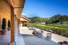 "Loggia and low maintenance ""backyard"", teak patio furniture  1080 Drake Street, Montara, CA 94037 - PlanOmatic.com"