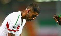 Ashkan Dejagah during AFC Asian Cup Qualifiers between Iran and Thailand at Azadi Stadium Tehran, Iran. on October 15, 2013