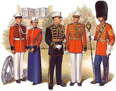 President's Own Marine Band Uniforms