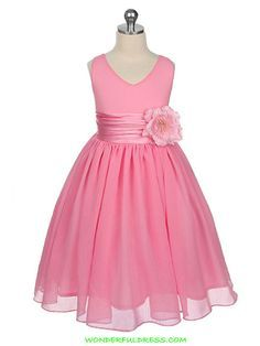 How cute is this flower girl dress?!  Maybe in a different color?