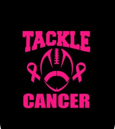 Tackle Breast Cancer Football Breast by MyCreativeOutletTime