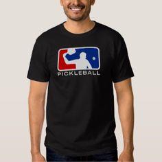 Major League Pickleball T-shirt (Black) 25% OFF Sale! (Pickleball apparel, clothing, gear, equipment, men, women, kids, discount, July 4th, summer, savings, gift ideas, cool)