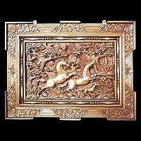 'Racing Horses,' relief panel - Hand Made Wood Relief Panel Copper Artwork, Balinese Decor, Driftwood Art, Heart Art, Wall Sculptures, Wood Carving, Online Art, Handicraft, Wood Crafts