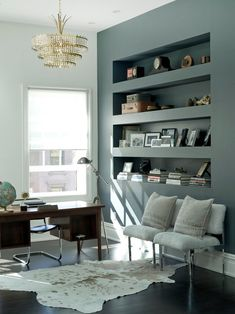 Brooklyn home office; Est mag