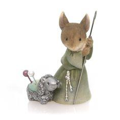 Christmas Mouse Shepherd Christmas Figurine
