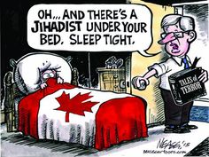 """There's a #abbudget under your bed, sleep tight"""" Prentice uses same Harper scare tactics. """"Government"""" by fear. #ableg"""