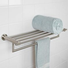 Aylett Double Towel Rack - Bathroom Shelves - Bathroom Accessories - Bathroom