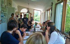 2 agosto 2014. Il benvenuto alla nostra Foresteria. #LNV2014