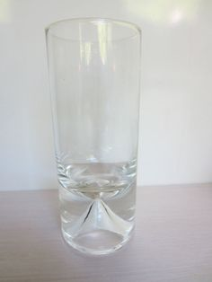 Vintage Rare 1970s Drinking Glass Everest by Bjorn Weckstrom for Nuutajarvi Finland via Etsy $65