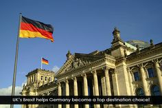 UK's Brexit helps Germany become a top destination choice