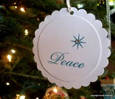 Simplicity: 2012 Stephen Ministry Ornaments