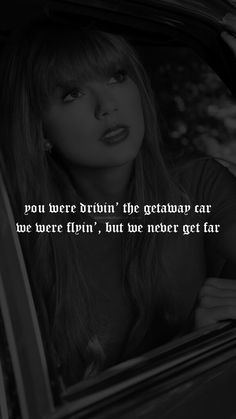 Taylor Swift - Getaway Car