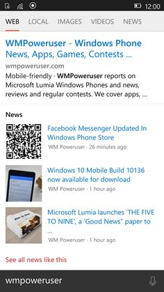 Main New features and Bug fixes from build 10136 of Windows 10 Mobile Insider Preview -  ##windows10