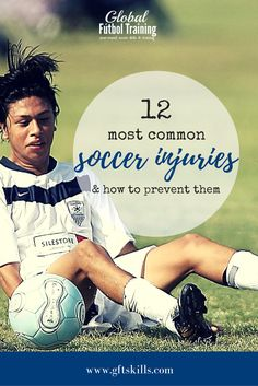 If you've ever played soccer, then you've probably been injured in some capacity before. From ankle sprains, to pulled hamstrings to more severe injuries like a concussion. If you've played soccer competitively, you've probably experienced at least one. Soccer Practice, Soccer Drills, Soccer Coaching, Soccer Tips, Soccer Games, Play Soccer, Soccer Stuff, Soccer Gear, Nike Soccer