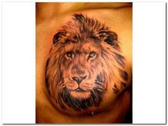 Lion tattoo. Exactly what i want on my thigh.