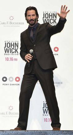 Keanu Reeves - Japan to promote John Wick septeber 2015