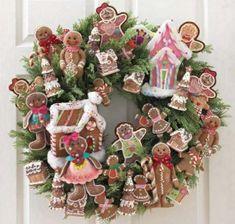 weihnachtsdeko-basteln-kranz-weihnachtsplätzchen-weihnachtsdeko-basteln