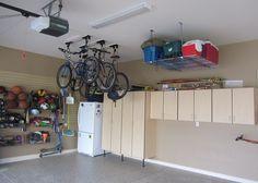 Garage Storage Ideas | Garage Storage Ideas for Small Space : Stunning Bike Garage Storage ...