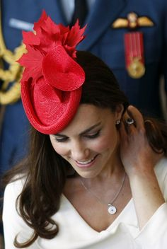 Duchess of Cambridge - One of my favourite fascinators of all time